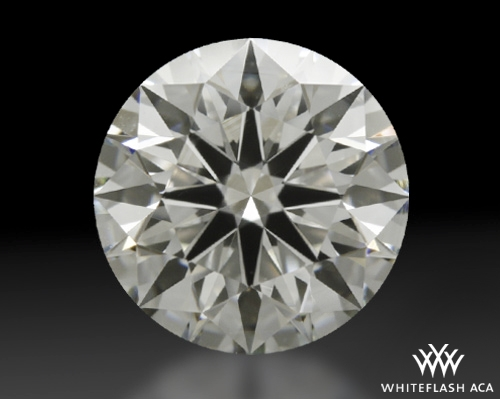 0.826 ct H VS1 A CUT ABOVE® Hearts and Arrows Super Ideal Round Cut Loose Diamond