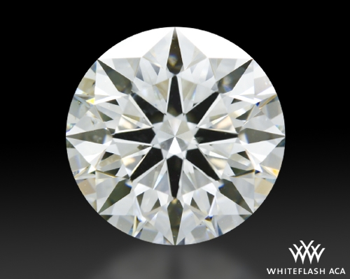 2.47 ct I SI1 A CUT ABOVE® Hearts and Arrows Super Ideal Round Cut Loose Diamond
