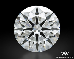 2.35 ct I SI1 A CUT ABOVE® Hearts and Arrows Super Ideal Round Cut Loose Diamond