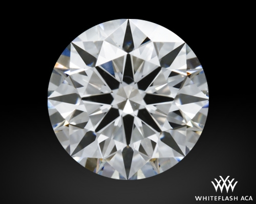 1.214 ct G VS2 A CUT ABOVE® Hearts and Arrows Super Ideal Round Cut Loose Diamond