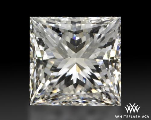 1.798 ct H SI1 A CUT ABOVE® Princess Super Ideal Cut Diamond