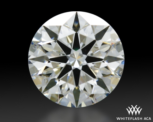 0.32 ct H SI1 A CUT ABOVE® Hearts and Arrows Super Ideal Round Cut Loose Diamond