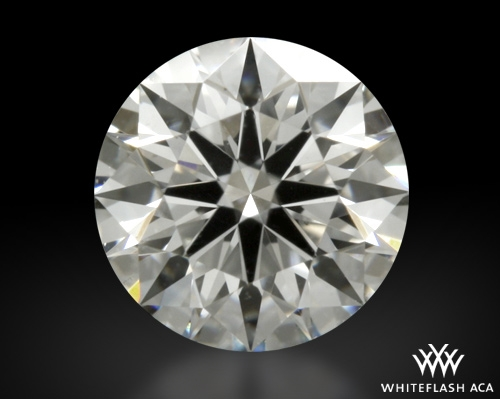 0.415 ct G VS2 A CUT ABOVE® Hearts and Arrows Super Ideal Round Cut Loose Diamond