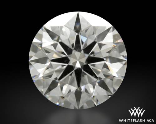 0.463 ct G SI1 A CUT ABOVE® Hearts and Arrows Super Ideal Round Cut Loose Diamond