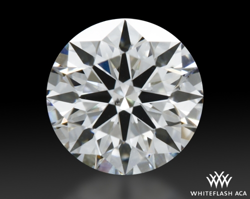 0.761 ct I SI1 A CUT ABOVE® Hearts and Arrows Super Ideal Round Cut Loose Diamond