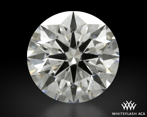 0.818 ct D VS2 A CUT ABOVE® Hearts and Arrows Super Ideal Round Cut Loose Diamond