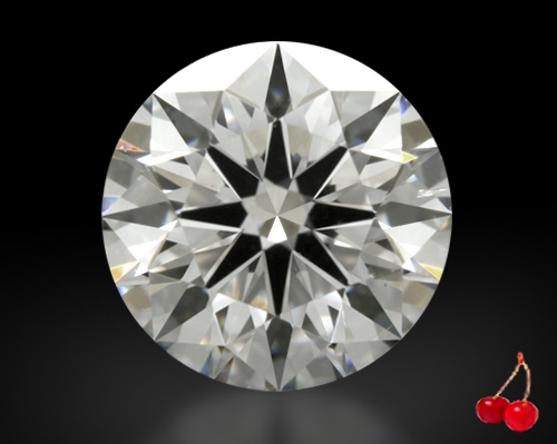 0.846 ct F SI1 Expert Selection Round Cut Loose Diamond