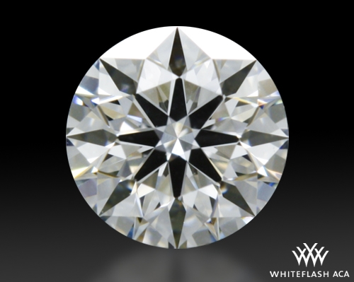 0.305 ct F VVS2 A CUT ABOVE® Hearts and Arrows Super Ideal Round Cut Loose Diamond