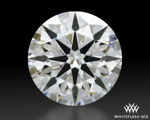0.306 ct E VVS1 A CUT ABOVE® Hearts and Arrows Super Ideal Round Cut Loose Diamond