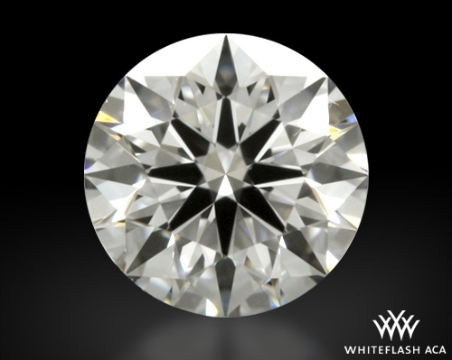 0.317 ct F VVS1 A CUT ABOVE® Hearts and Arrows Super Ideal Round Cut Loose Diamond