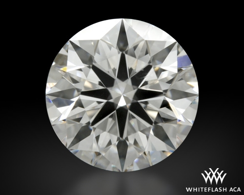 1.252 ct E VVS2 A CUT ABOVE® Hearts and Arrows Super Ideal Round Cut Loose Diamond