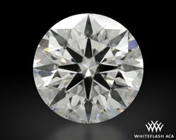 1.252 ct E VVS2 A CUT ABOVE® Hearts and Arrows Super Ideal Round Cut Loose Diamond