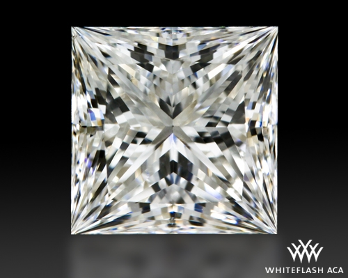 1.211 ct H VS2 A CUT ABOVE® Princess Super Ideal Cut Diamond