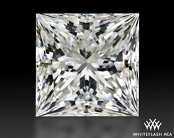 1.211 ct H VS2 A CUT ABOVE® Princess Super Ideal Cut Diamond