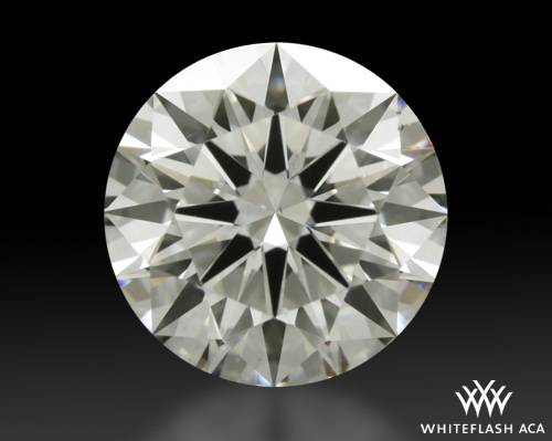 1.585 ct H SI1 A CUT ABOVE® Hearts and Arrows Super Ideal Round Cut Loose Diamond