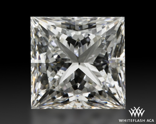 1.013 ct F VS1 A CUT ABOVE® Princess Super Ideal Cut Diamond
