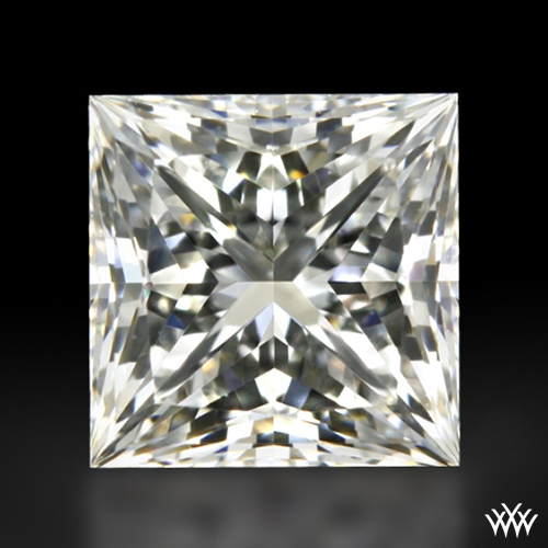 0.707 ct H VVS1 A CUT ABOVE® Princess Super Ideal Cut Diamond