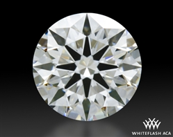 0.521 ct F VS1 A CUT ABOVE® Hearts and Arrows Super Ideal Round Cut Loose Diamond