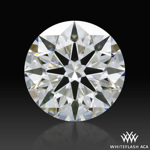 0.565 ct F VS1 A CUT ABOVE® Hearts and Arrows Super Ideal Round Cut Loose Diamond
