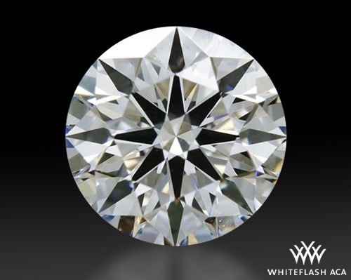 0.615 ct E VS2 A CUT ABOVE® Hearts and Arrows Super Ideal Round Cut Loose Diamond