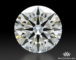 0.525 ct F VS1 A CUT ABOVE® Hearts and Arrows Super Ideal Round Cut Loose Diamond