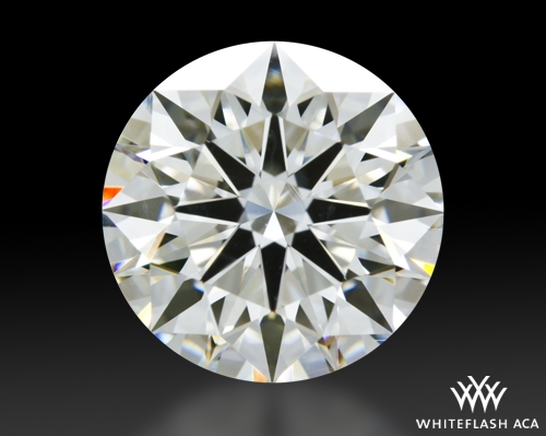 2.47 ct I VS2 A CUT ABOVE® Hearts and Arrows Super Ideal Round Cut Loose Diamond