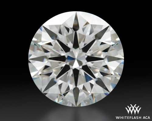 1.108 ct G SI1 A CUT ABOVE® Hearts and Arrows Super Ideal Round Cut Loose Diamond