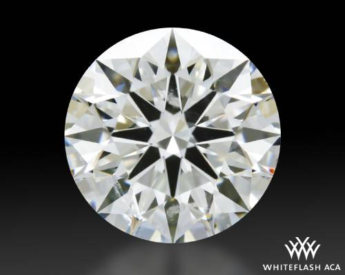 1.08 ct G SI1 A CUT ABOVE® Hearts and Arrows Super Ideal Round Cut Loose Diamond