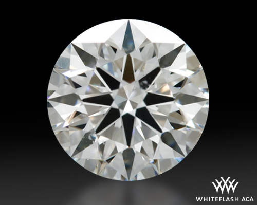 0.921 ct G VS2 A CUT ABOVE® Hearts and Arrows Super Ideal Round Cut Loose Diamond