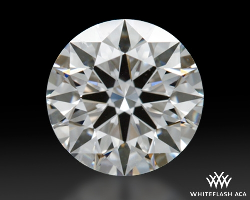 0.916 ct F VVS2 A CUT ABOVE® Hearts and Arrows Super Ideal Round Cut Loose Diamond