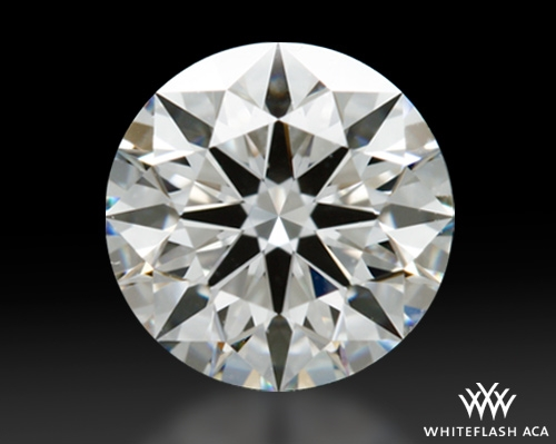0.806 ct F VS2 A CUT ABOVE® Hearts and Arrows Super Ideal Round Cut Loose Diamond