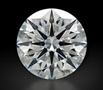 1.206 ct G SI1 A CUT ABOVE® Hearts and Arrows Super Ideal Round Cut Loose Diamond