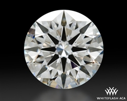 1.558 ct G SI1 A CUT ABOVE® Hearts and Arrows Super Ideal Round Cut Loose Diamond