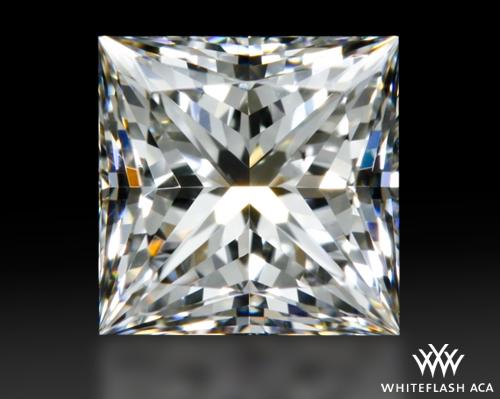 0.743 ct F VS2 A CUT ABOVE® Princess Super Ideal Cut Diamond