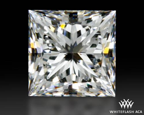 0.713 ct F SI1 A CUT ABOVE® Princess Super Ideal Cut Diamond