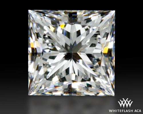 0.713 ct F SI1 A CUT ABOVE® Princess Super Ideal Cut Diamond