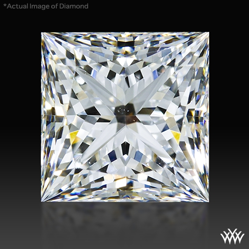 2.082 ct G VS2 A CUT ABOVE® Princess Super Ideal Cut Diamond