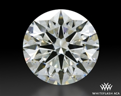 2.271 ct H SI1 A CUT ABOVE® Hearts and Arrows Super Ideal Round Cut Loose Diamond