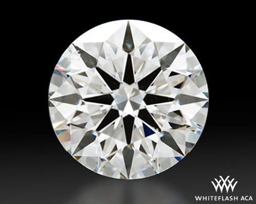 2.021 ct H SI1 A CUT ABOVE® Hearts and Arrows Super Ideal Round Cut Loose Diamond