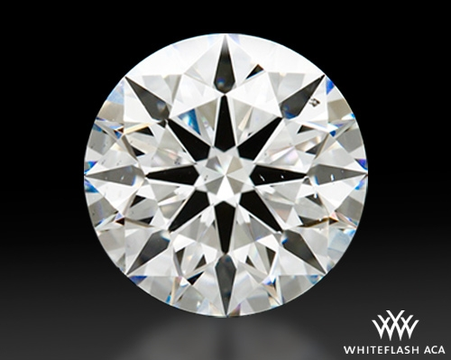 1.728 ct F SI1 A CUT ABOVE® Hearts and Arrows Super Ideal Round Cut Loose Diamond