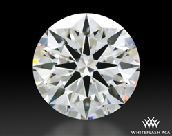 1.704 ct H VS1 A CUT ABOVE® Hearts and Arrows Super Ideal Round Cut Loose Diamond