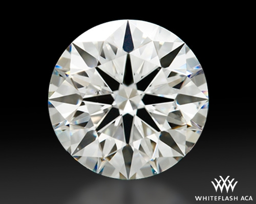 1.221 ct H VS2 A CUT ABOVE® Hearts and Arrows Super Ideal Round Cut Loose Diamond