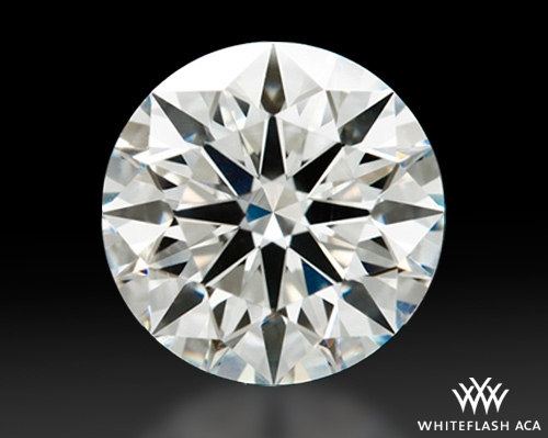 1.206 ct H VS2 A CUT ABOVE® Hearts and Arrows Super Ideal Round Cut Loose Diamond
