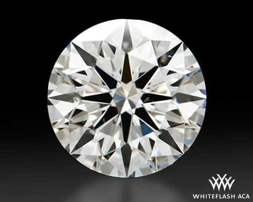 1.271 ct I VS2 A CUT ABOVE® Hearts and Arrows Super Ideal Round Cut Loose Diamond