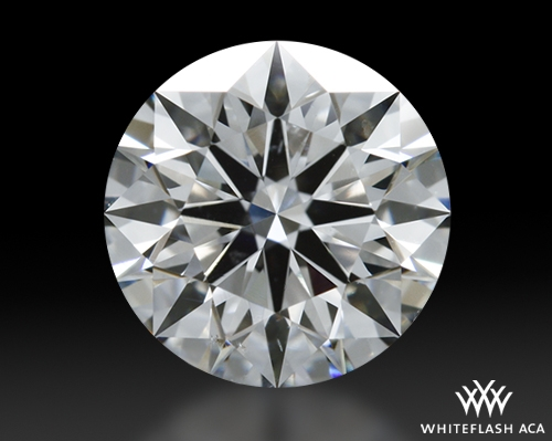 1.048 ct F SI1 A CUT ABOVE® Hearts and Arrows Super Ideal Round Cut Loose Diamond