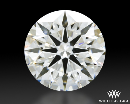1.064 ct H SI1 A CUT ABOVE® Hearts and Arrows Super Ideal Round Cut Loose Diamond