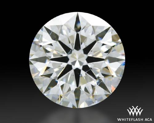 1.074 ct H SI1 A CUT ABOVE® Hearts and Arrows Super Ideal Round Cut Loose Diamond