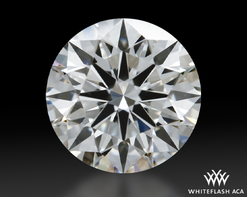 1.025 ct H VS1 A CUT ABOVE® Hearts and Arrows Super Ideal Round Cut Loose Diamond
