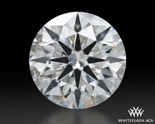 1.003 ct H SI1 A CUT ABOVE® Hearts and Arrows Super Ideal Round Cut Loose Diamond