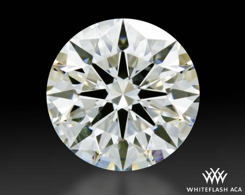 1.055 ct H SI1 A CUT ABOVE® Hearts and Arrows Super Ideal Round Cut Loose Diamond